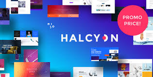 Modern Website Templates Mesmerizing Halcyon Multipurpose Modern Website HTML28 CSS28 Template By
