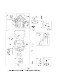 Briggs stratton engine parts model 4456770954g5 sears partsdirect