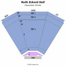 ruth eckerd hall seating chart and event tickets