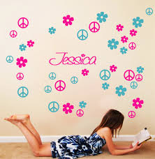 Peace Sign Wallpaper For Bedroom Compare Prices On Vinyl Wall Signs Online Shopping Buy Low Price