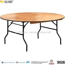 2019 whole factory low plywood round long rectangular cocktail half moon banquet folding tables from cateringfurniture168 55 28 dhgate com