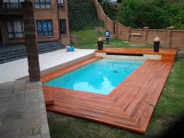 Wooden Pool Decks Wooden Pool Deck Built In Westville Durban The Wood Joint
