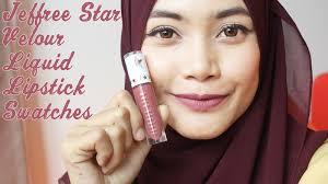 makeup 101 jeffree star cosmetics velour liquid lipstick swatches celebrity skin androgyny one fierce beauty