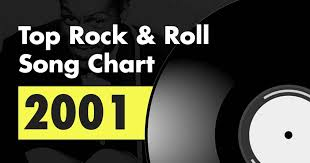 Rock Charts 2001 Top 100 Rock Roll Song Chart For 2001