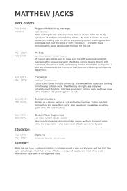 Casino Dealer Resume Sample Reentrycorps Free Sample Resume Cover