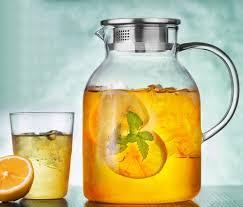glass iced tea pitcher. Interesting Iced Iced Tea Pitcher  Borosilicate Glass Think Vintage PYREX U2013  IcedTeaPitchercom Intended