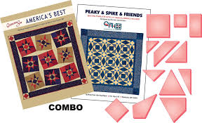 Peaky & Spike Set + America's Best Combo – Quilting from the Heartland & ... peaky spike quilt book and templates by quilting from the heartland ... Adamdwight.com
