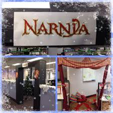office christmas themes. Christmas Decorations In The Office - Narnia Theme. Themes E