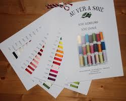 Soie D Alger Colour Chart Soie Gobelins Soie Ovale Floss Chart