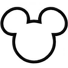 Mickey Vector Mouse Ears Clipart Black And White Head Coloring Pages Paper  Dolls Itchy Donald Duck Magic Hat Scooby Doo Silly Symphonies Books  Keychains — oguchionyewu