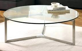 round glass coffee table metal base cfee top with canada kitchen