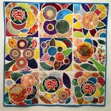 Tile quilt | Quilts | Pinterest | Quilt tutorials, Scrap and Mini ... & La Mañosa -- Lotus Tile Quilt Adamdwight.com