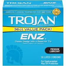 Trojan ENZ Lubricated Condoms, 36ct - Walmart.com