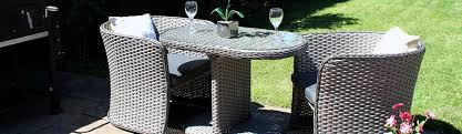 rattan dining set table chairs