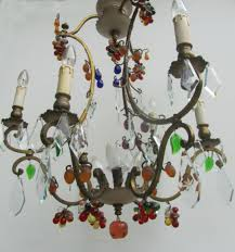 antique murano glass chandelier fruit crystal chandelier italian murano glass antique 19 images