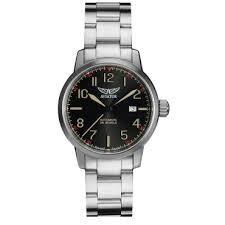 mens watches designer watches luxury peter jackson aviator airacobra black bracelet watch