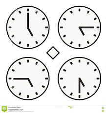 Dow Quote Classy Time Clock Round Watch Hour Five Quoter Half Icon Simple Vector
