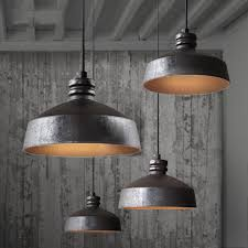 rustic pendant lighting. ceramic rustic industrial pendant light tudo u0026 co lighting pinterest