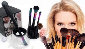 black make up brush cleaner and dryer