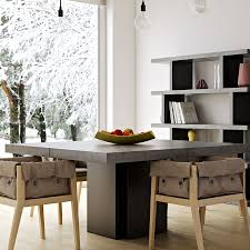Concrete Top Dining Tables Modern Dining Tables Dusk 59 Concrete Table Eurway