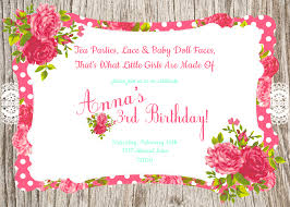 jawdropping tea party birthday invitations which is viral today party invitations png tea party