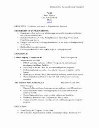 Administrative Assistant Resume Qualifications Sample