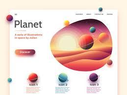 Page project | Разработка интерфейса, Веб-дизайн ...