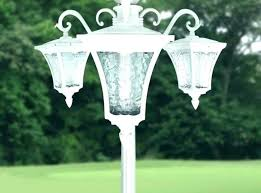 solar fence post lights canada cap power lamp light home improvement enchanting powered l extraordinary