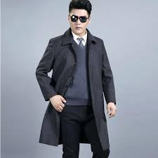 winter coat for mens wool winter coats middle aged fashion classic men winter jacket leisure size