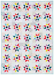 Little Bluebell: Classic Modern Quilts Blog Tour & Blaze was inspired by the Star of Bethlehem block. We were given several  blocks to choose from and I was drawn to this one immediately. Adamdwight.com