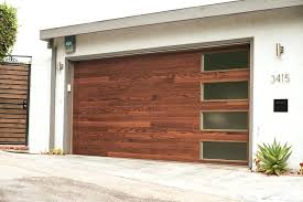 modern garage doors glass miami