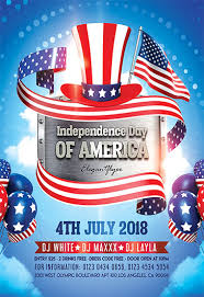 Independence Day Flyer Psd Template