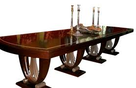 art deco era furniture. Daniel Scuderi Art Deco Dining Table In Ruhlmann Style Furniture Room Tables Wood Era I
