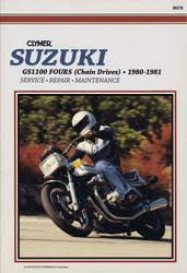 suzuki motorcycle manuals diy repair manuals clymer suzuki gs1100 fours chain drives motorcycle 1980 1981 service repair manual