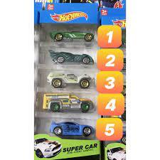 Xe ô tô đồ chơi các loại cho bé - Vỉ 5 xe sắt Diecast- đồ chơi thông minh  cho các bé chính hãng