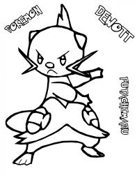 Small Picture Pokemon Dewot Coloring Pages Pokemon Coloring Pages Pinterest