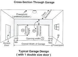 double garage doorgarage door dimensions australia size south africa