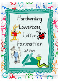 Colour Formation Chart Year 1 Handwriting Letter Formation Lowercase Colour Charts Sa Print