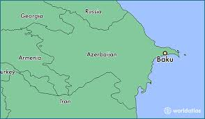 Where is baku azerbaijan located