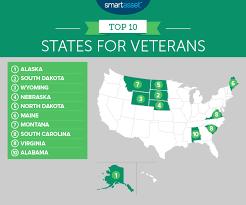 Va Medical Benefits Chart The Best States For Veterans Smartasset