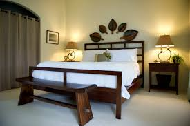 bedroom furniture benches. Long Natural Woden Benches For End Of Bed Simple Soft Bedroom Matching Wooden Furniture I