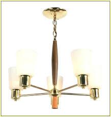 mid century modern chandelier vintage eimatco lighting diy