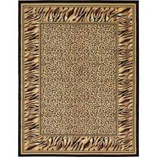 wildlife light brown 9 x 12 rug