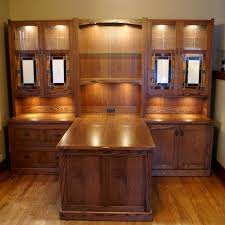 Home office desk systems Shelves Hand Made Craftsman Style Desk System By Roltgens Woodworks Custommadecom Custommadecom Hand Made Craftsman Style Desk System By Roltgens Woodworks