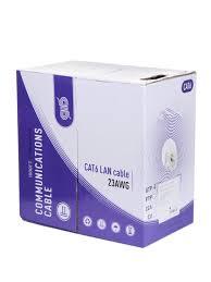 <b>Сетевой кабель ATcom UTP</b> Cat 6 CU 0 5mm 305m AT4377 - Чижик