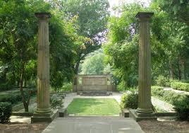 garden columns. Greek Cultural Garden In Cleveland, Ohio (photos By Dan Hanson) Columns