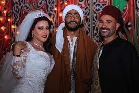"""سمية الخشاب وأحمد سعد يثيران الجدل في """"موسى"""""""