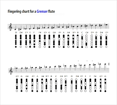 Sample Flute Fingering Chart 14 Free Documents In Pdf