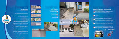 residential pressure washing business commercial miami fl brochure new water pressure cleaning brochure