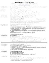 Hr Resume Objective Hr Resume Avenue Space Hr Generalist Resume